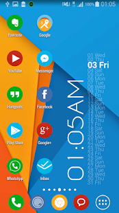 Flat Round Icon Pack Material - screenshot thumbnail