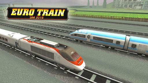 Subway Train Racing 3D 2019  captures d'écran 1