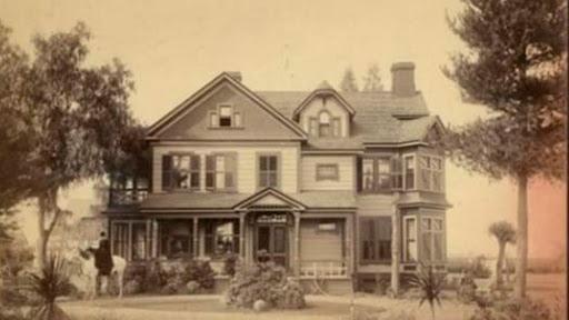 Casa Winchester antes de ser modificada