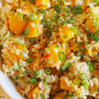 Butternut Squash and Brown Rice Dressing Recipe