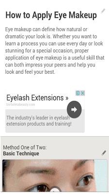 HairStyles & Make-Up Tutorial - screenshot