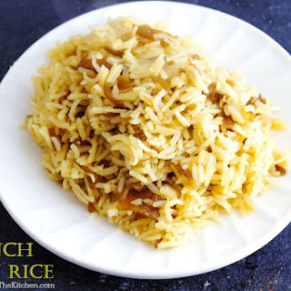 French Onion Rice.