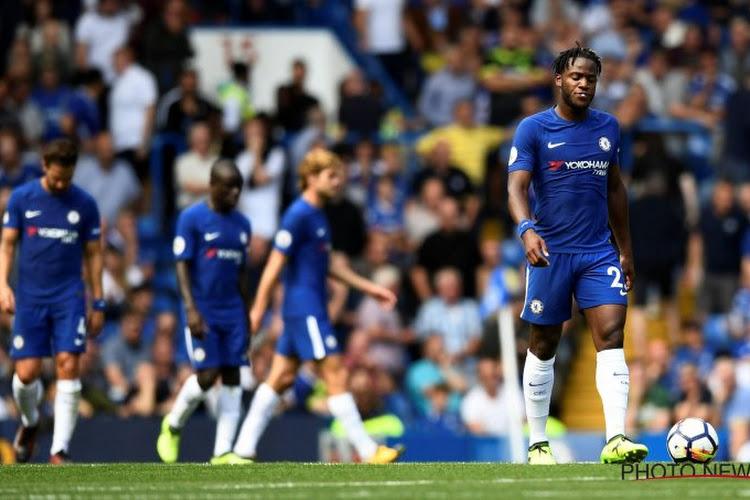 Dramatische start voor Chelsea dat met negen eindigt, ook een mindere dag voor Benteke en Depoitre