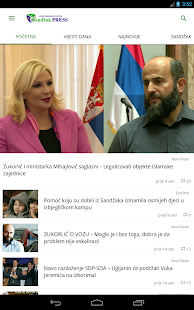 Sandžak PRESS- screenshot thumbnail