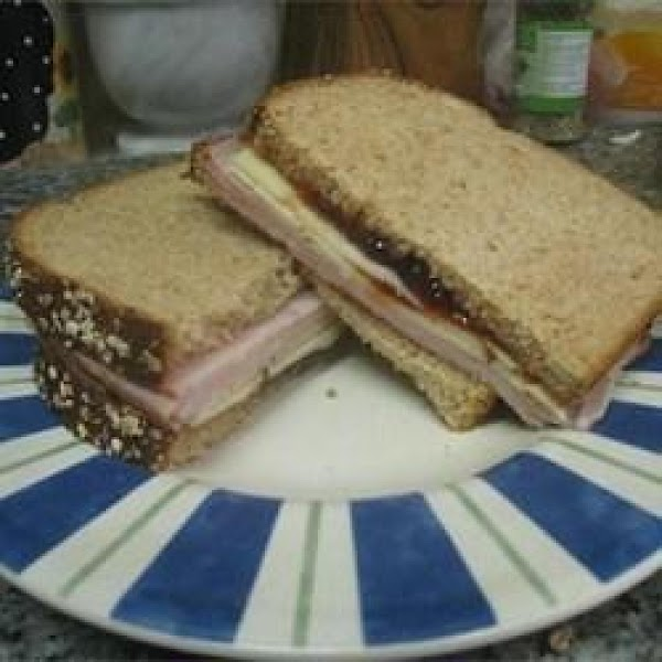 Sweet And Spicy Turkey Sandwich N Strawberryjam Recipe