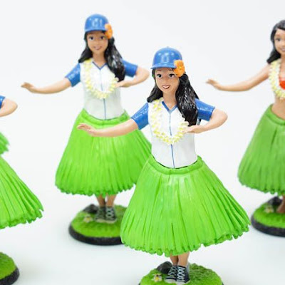 3d printing gallery image of painted doll figurines and hula bobbleheads