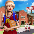 Virtual HighSchool New Girl College Life Adventure icon