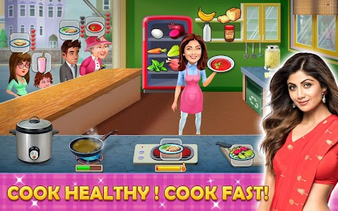 Kitchen Tycoon : Shilpa Shetty – Cooking Game 4.7 Android Mod + APK + Data 1