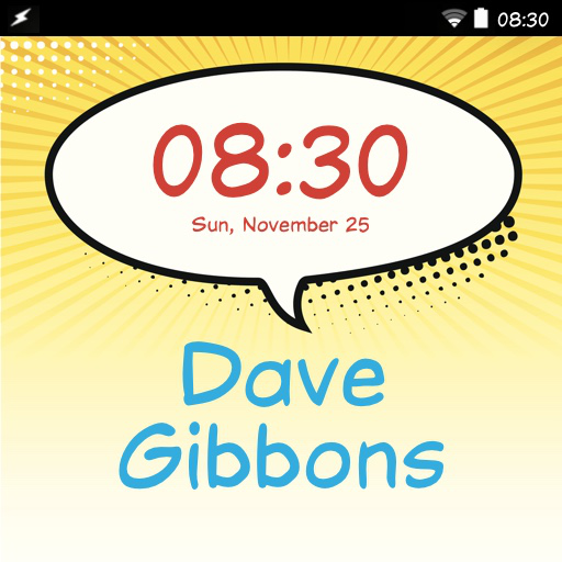 Dave Gibbons FlipFont - Apps on Google Play