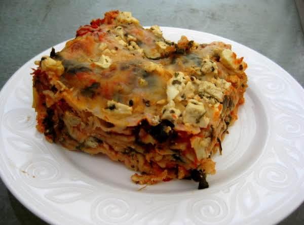 Spinach, Artichoke Lasagna