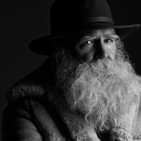 The Look by Scott Myler - People Portraits of Men ( senior citizen )