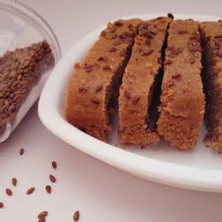 Flaxseeds Cake.