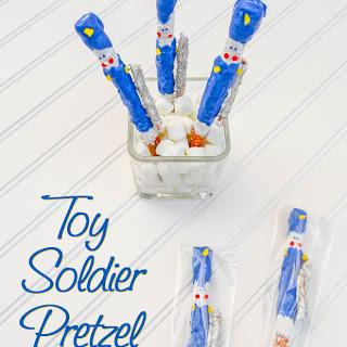 Nutcracker Toy Soldier Pretzels