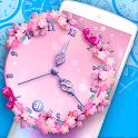 Flower Clock Live Wallpaper icon