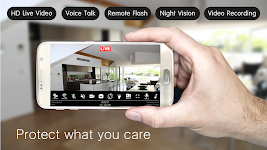 screenshot of Make your old phone as Home Security Camera