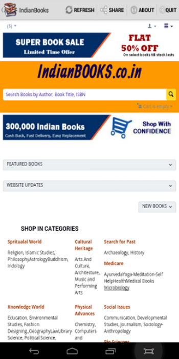 Indian Books Shopping- screenshot