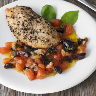 Turkey with Mediterranean Salsa