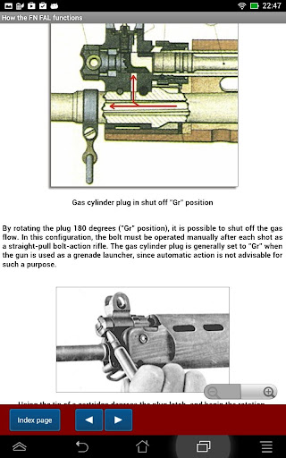 FN FAL rifle explained screenshot