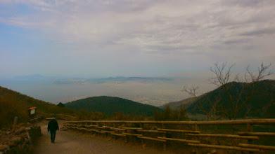 Photo: Climbing Mount Vesuvius