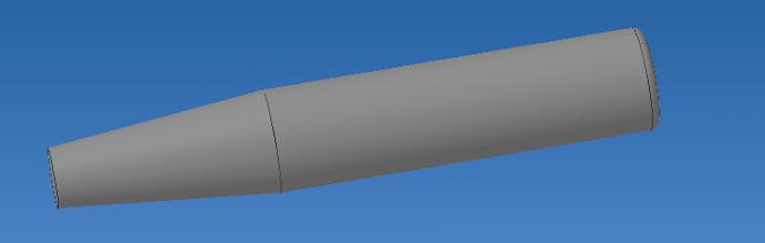 Photo: on utilisera une tige filetée rendue conique sur une extrémité pour bien écarté la cheville