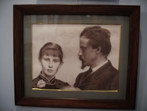 Photo: Sienkiewicz ze swoją trzecią żoną - Marią Babską, jego daleką kuzynką, która wyszła za niego w wieku 40 lat.