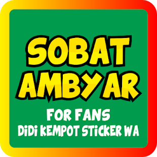 Download Sobat Ambyar Wasticker Apps For Pc Windows And Mac Apk