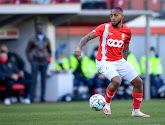Samuel Bastien nam alleen deel aan de warming-up met Standard