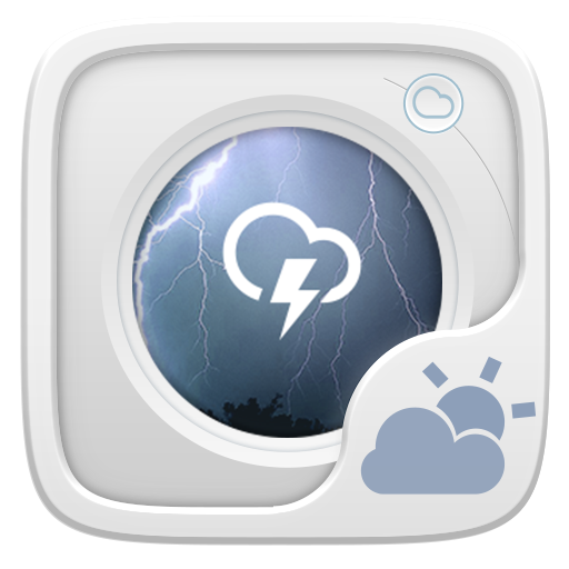 Simple GO Weather Widget Theme