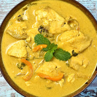 Fish Coconut Curry.