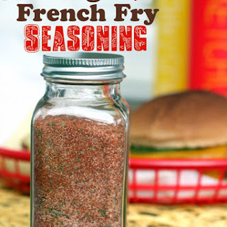 Best Burger and French Fry Seasoning.