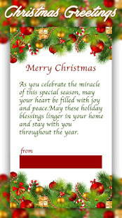 Christmas greetings apps on google play screenshot image m4hsunfo