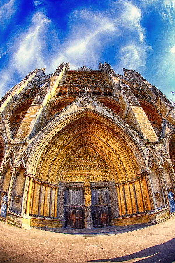 The Door by Luca Libralato - Buildings & Architecture Places of Worship ( england, uk, london, door, westminster, abbey )