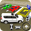 Prado Car Luxury Parking Free Driving Game