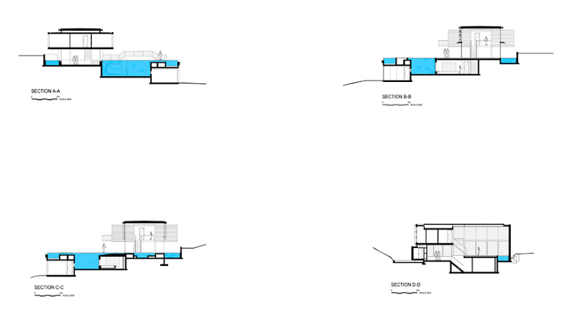 Photo: Spa House - Sections