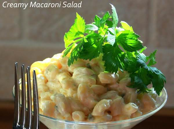 Super Creamy Macaroni Salad Recipe
