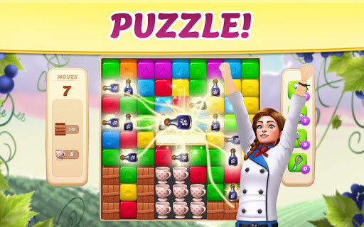 Vineyard Valley: Match & Blast Puzzle Design Game android2mod screenshots 4