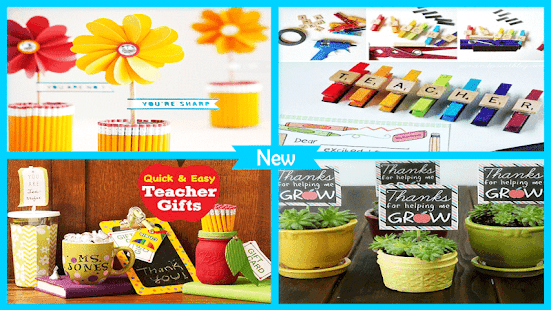 Amazing DIY Teacher Gift Ideas - náhled