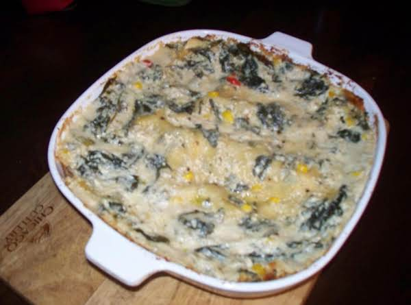 Bertolli Mushroom Alfredo With Veggie Lasagna (for Lack Of A Better Name) Recipe