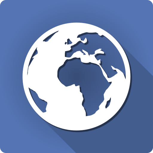 World Map Offline - Political Icon