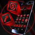 Red Black Launcher Theme icon