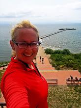 Photo: Ir dar viena švyturiška asmenukė po fantastiško sprinto į Ventę! :)))