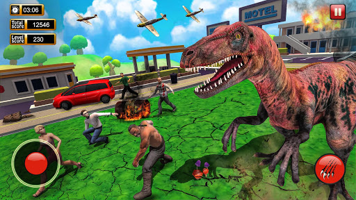 Monster Dinosaur Simulator: City Rampage screenshots 5