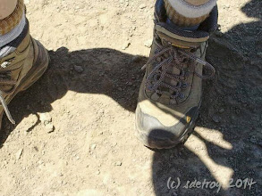 Photo: Grateful for my boots that take me hiking.