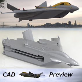 Flight aircraft carrier Type L (1/3200) full color model