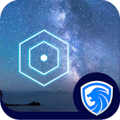 AppLock Theme -Starry Night