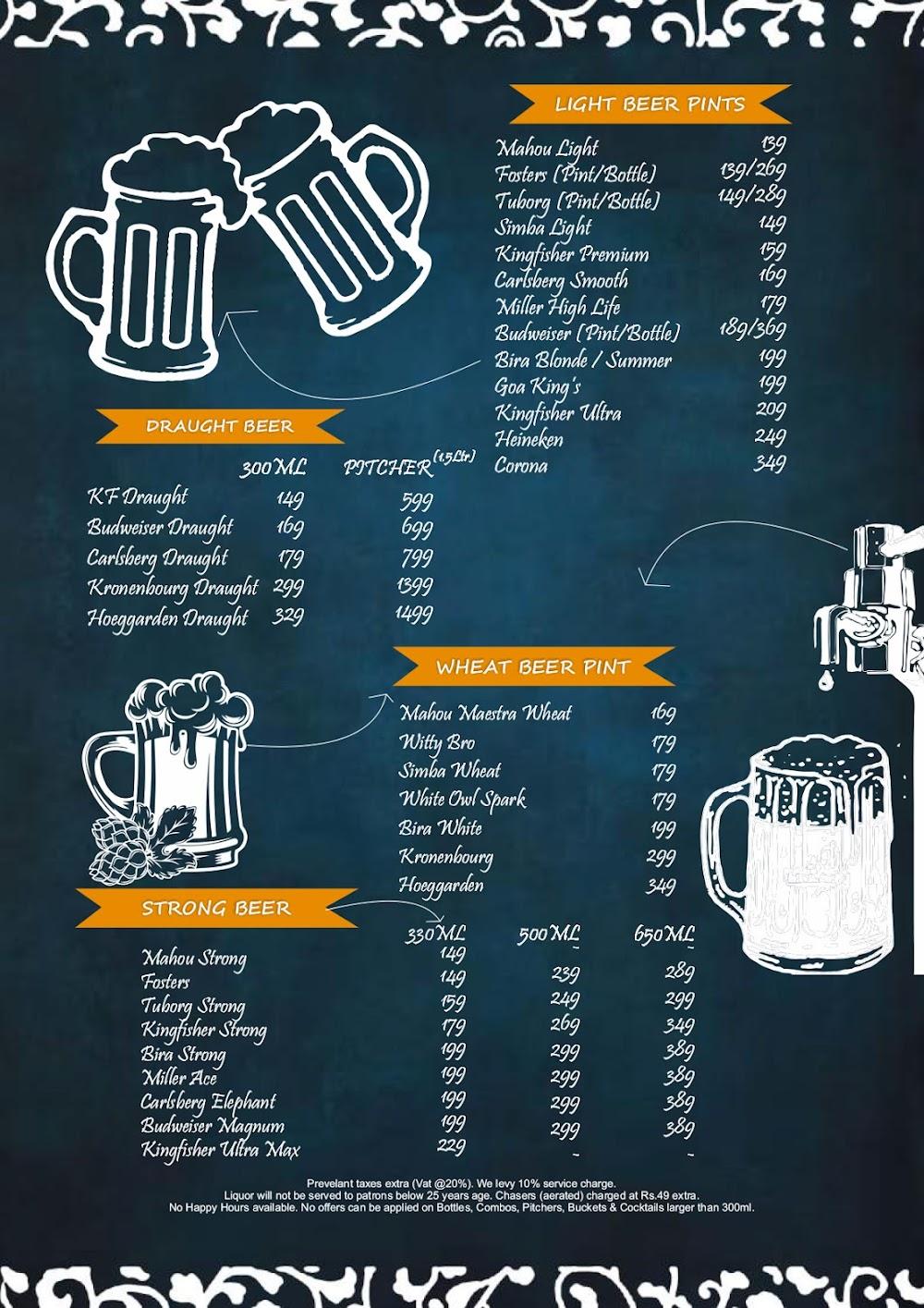 Chill'm Bar & Cafe menu 5
