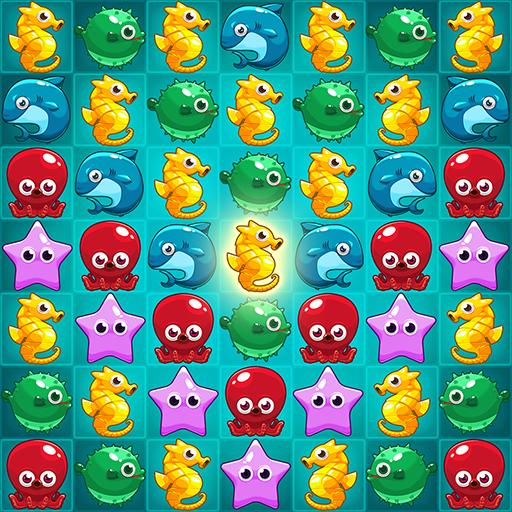 Ocean Match Puzzle Icon