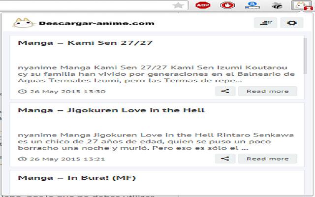 Descargar-anime.com - Chrome Extension