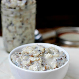 Homemade Condensed Cream of Mushroom Soup
