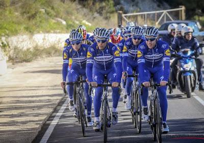 L'équipe Deceuninck - Quick-Step annonce sa sélection pour le Tour de Californie